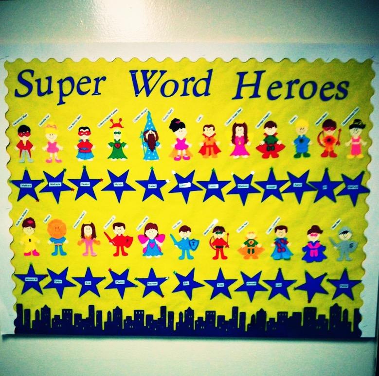 Sight Word Heroes